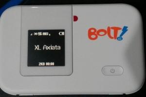 BOLTのモバイルルーター。