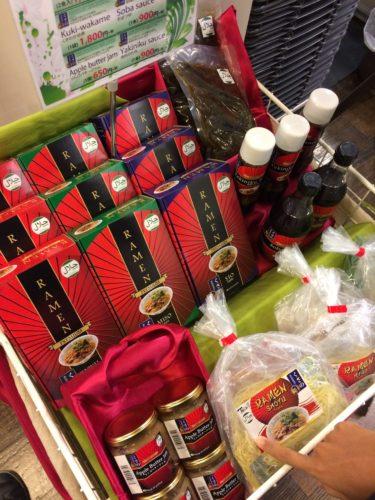 同じく八王子道の駅のハラル食品。ラーメンはハラル化の鉄板商品のようですね。